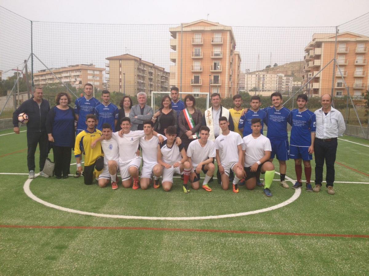 Inaugurazione impianto sportivo sede ITCET Sciascia di Porto Empedocle