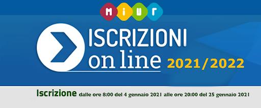 Logo Iscrizioni 2021/2022